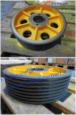 Thyssenkrupp Traction Sheave 200023719