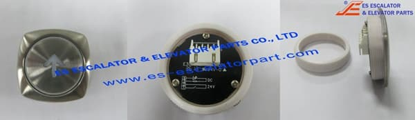 White Diamond Type Push button 200086371