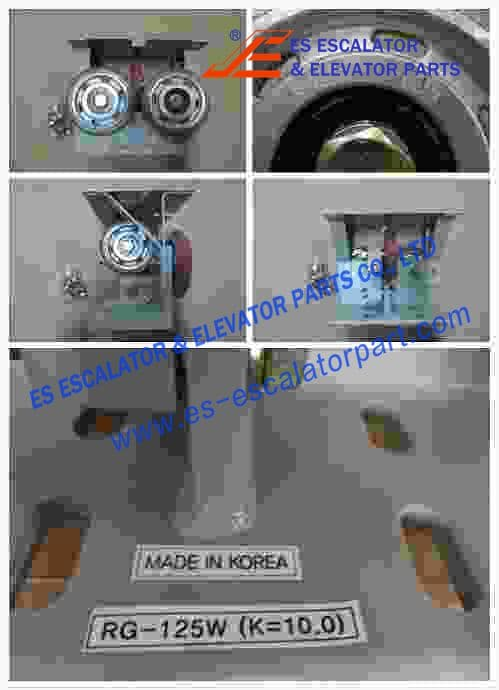 ESThyssenkrupp Roller Guide Shoe 200234291