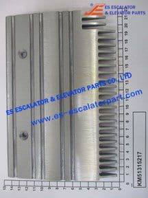 Replaced byKM51315217 Comb Plate LHS