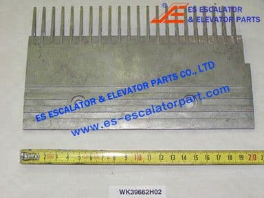 WK39662H02 22-PIN RIGHT STEP COMB W=203.65MM