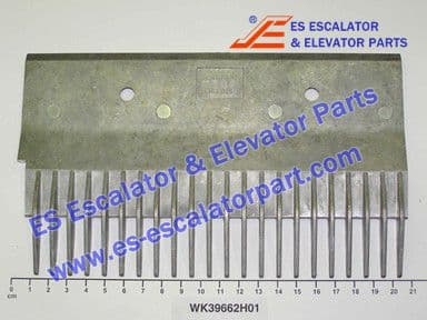 WK39662H01 22-PIN LEFT STEP COMB W=203.65MM