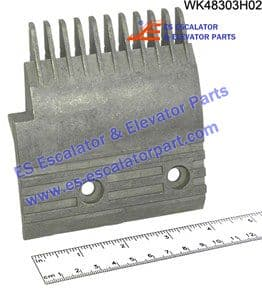 WK48303H02 11-PIN LEFT STEP COMB W=106.2MM