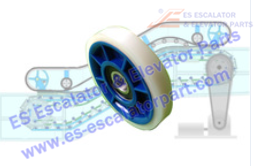 KONE Roller And Wheel NEW DEE1972307