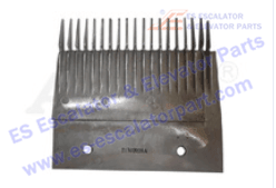 Hitachi Escalator Parts Comb Plate 21502026A