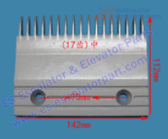 Escalator 22501789 Comb Plate