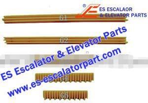 OTIS Escalator Parts GO455G5 Step Demarcation NEW