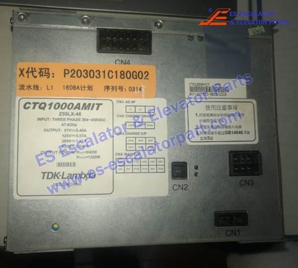 MITSUBISHI Elevator Z59LX-46 Power Adapter