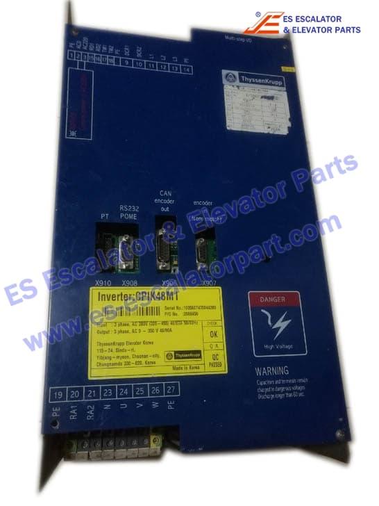 THYSSENKRUPP Elevator CPIK48M1 Inverter