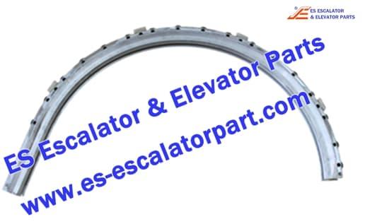 otis escalator DAA2000NNP1 506NCE aluminum balustrade guide track