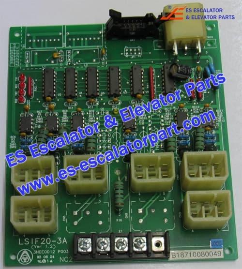 ESThyssenkruppKrupp elevator PCB LSIF20-3 A (Ver1.2)