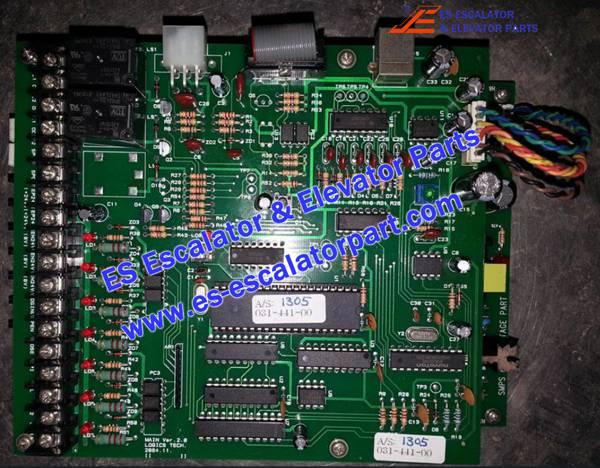 Hyundai Elevator Scan control PCB