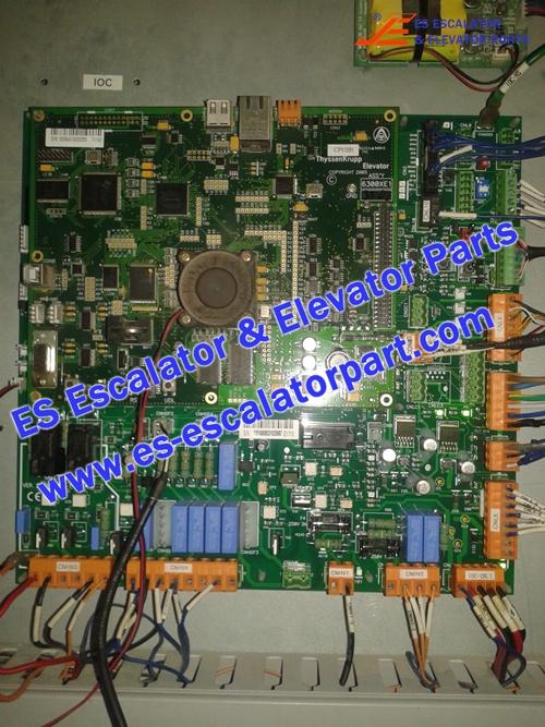 ESThyssenkruppKrupp Elevator CPUA 6300XE1 PCB