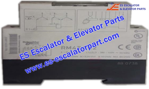 THYSSEN Escalator TUGELA 945 RM4TA32 phase protection relay
