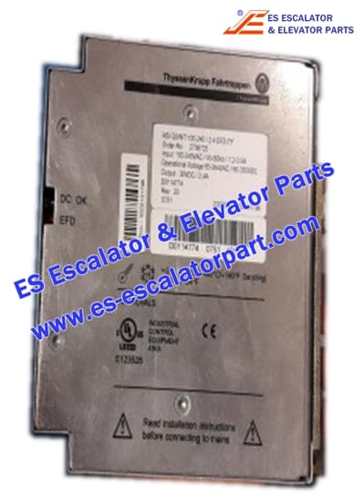 THYSSEN Escalator TUGELA 945 power supply 115-230V