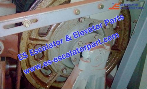 Mitsubishi Elevator YA203B304-16 Traction wheel