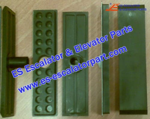Kone Elevator KM50306495 GUIDE SHOE INSERT AND RUBBER PAD KIT