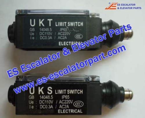 Mitsubishi Elevator Parts UKS/UKT travel switch