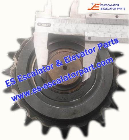 Hyundai Escalator Parts Sprocket