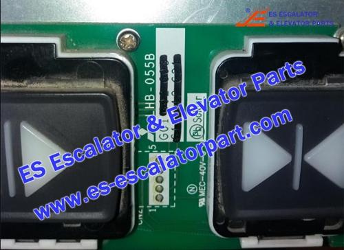 Mitsubishi Elevator parts LHB-055B Button Board