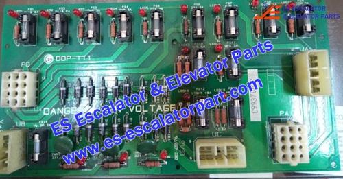 LG/SIGMA Elevator Parts DOP-111 PCB