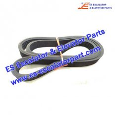 Escalator Parts V717AAA2 Handrail Drive Belt