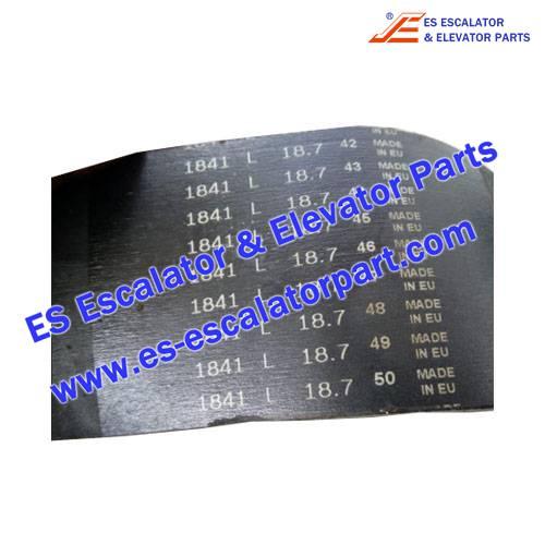 Schindler Escalator Parts PL1841 Handrail Pressure Belt