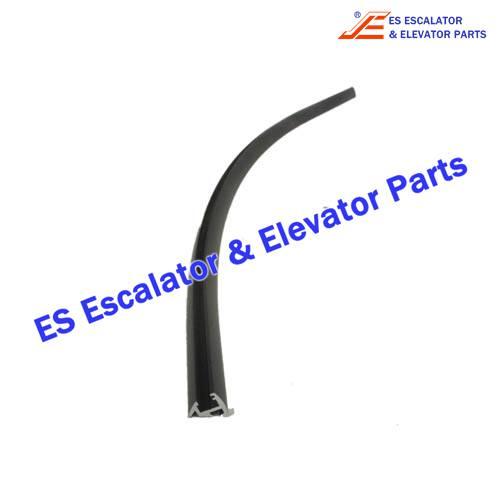 KONE Escalator KM5251224H04 CURVED SECTION 35-2 BOTTOM R1000 L