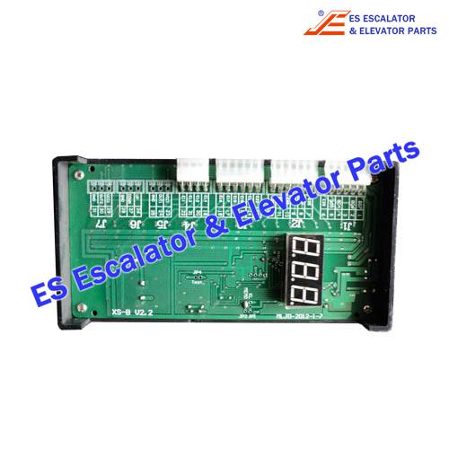 ESCANNY/KONL Escalator XS-B Fault Display
