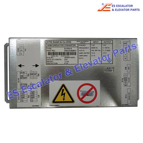 Semiconductor Converter GBA24350BH1 for ESOTIS elevator