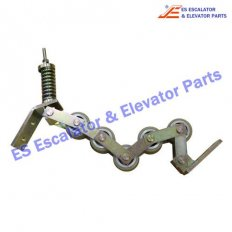 <b>Escalator ASA00B176*B Handrail pressure roller chain</b>