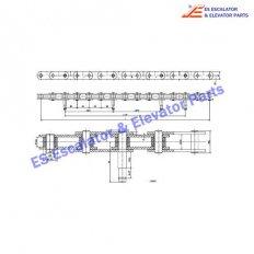 <b>Escalator SDS393000 Step Chain</b>